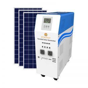 solar generator system 1500w
