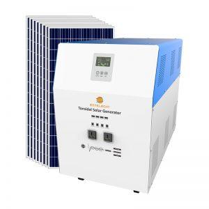 solar generator system 5000w