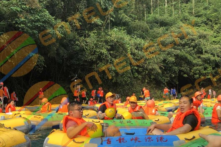 Huangtengxia rafting in Qingyuan City