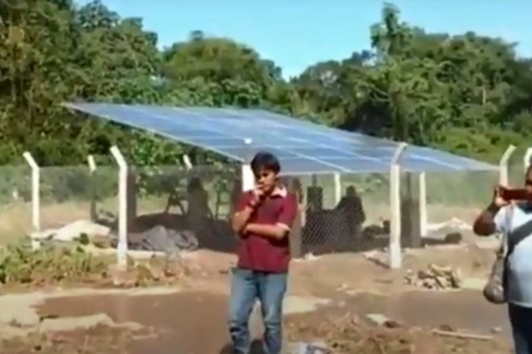 Off grid solar system for Pump in the philippine